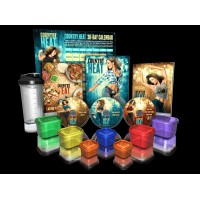 Country Heat Dance Workout Base Kit PLUS Portion Control Containers and Shaker Cup Autumn Calabrese Set