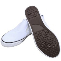 TEEPER White Shoes Unisex SH100-2 Children School Shoes Kids Canvas Shoes