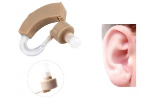 Cyber Sonic Ear Care In Ear Hearing Aids Behind the Ear Adjustable Tone Sound Amplifier With Carrying Case