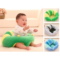 Cute Baby Seat Support Pillow Infant Safe Seating Cushion Sofa Plush Toys
