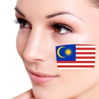 10pcs Waterproof Flag Of Malaysia Facial Tattoo Temporary Tattoo Body Art Flash Tattoo Stickers Water Transfer Removable Tattoo Sticker Colorful