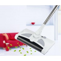 2-In-1 Professional Cordless Electric Sweeper And Mop Rechargeable Battery Rotary Rod 360 Degree Cleaner Starter Kit Dust Catcher