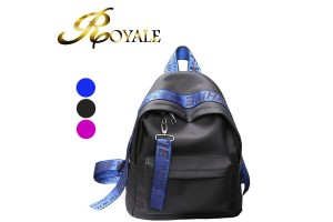 ROYALE High Quality Fashion Casual Korean Style Oxford Nylon Backpack - 3 Colors Available (RYL-208)