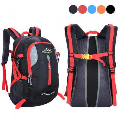35L Large Capacity Travel Outdoor Camping Sports Bags Waterproof Nylon Backpack
