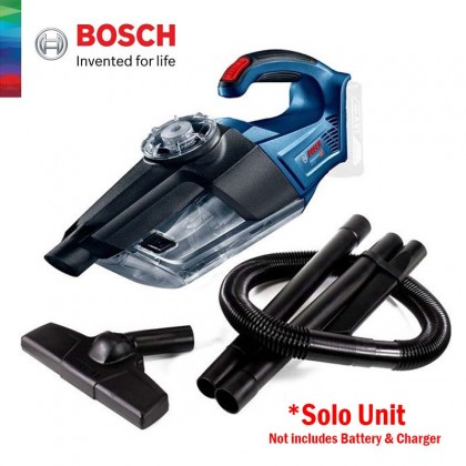 BOSCH GAS 18V-LI Professional Cordless Vacuum Cleaner SOLO Version (Without Battery & Charger) - 06019C62L0
