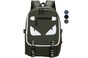 Monster Eyes Waterproof Leisure Unisex Fashion Bag Backpack - 3 Colors Available