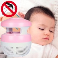 Mosquito Killer Light 2W USB 220V Smart Optically Controlled Safety Insect Killing Lamp
