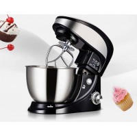 Kitchen 4L Stand Mixer Home Noodle Dough Flour Mixer Machine With Stainless Steel Mixing Bowl