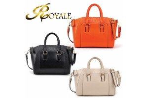 ROYALE Luxury Crocodile PU Leather Office Ladies Style Crossbody Handbags (RYL-215)