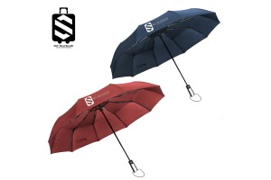 SKY TRAVELLER SKY307 Automatic Folding Telescopic Umbrella Windproof Reinforced Ribs Travel Outdoor Umbrella