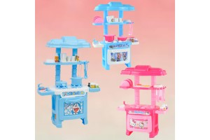 32pcs Children Cartoon Educational Role Pretend Kitchen Fun Cooking Toy Play Set