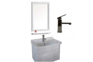 Aluminum Simple Bathroom Cabinets Bathroom Combo Bathroom Vanity Sink Cabinet Bathroom Sink Cabinet Combo