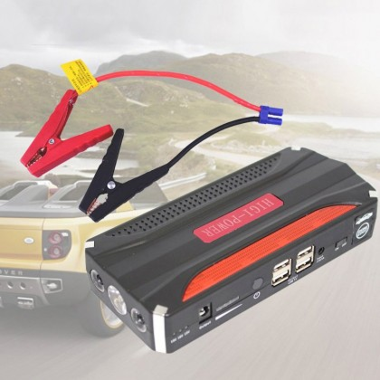 High Power 68800mAh Multi-Function Jump Starter Car Power Bank Automobile Emergency Power Supply