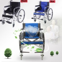 Portable Folding Light Scooter For The Elderly Disabled Non Inflatable Tires Wheelchair (HC-08610)