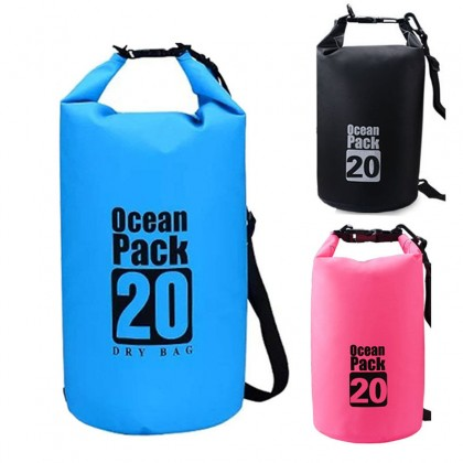 Ocean Pack 20L High Quality Outdoor Waterproof Bag Ultralight For Driftage Camping Swimming Travel
