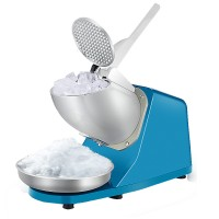 Commercial Electric Household Ice Crusher Ice Shaver Ice Kacang Machine Snow Cone Maker