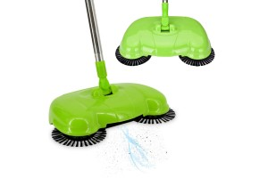 Lazy People Pushing Brooms Automatic 360 Degree Rotary Household Floor Sweeper Vacuum Cleaner Wiping Machine Magic Clean Sweep Wool Artifact