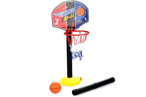 Junior Basketball Hoop And Stand Ball Pump Set Indoor Outdoor Fun Toys Activities Boy Kids