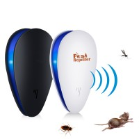 1pc Frequency Conversion Ultrasonic Insect Repellent Insect Ant Cockroach Mouse Home Small Electronic Insect Repeller