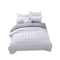 Bedding Sheet Fitted 3-in-1 Bed Sheet Queen Size (2 Pillow Covers + 1 Fitted Sheet)