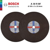 BOSCH 2pcs Cutting Disc For Metal (305mm x 3mm x 25.4mm) - 2608600276