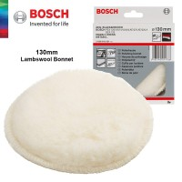 BOSCH 130mm Lambswool Polishing Bonnet (2608610001)
