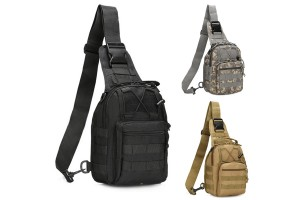 Army Fan Tactical Chest Bag Xiaotang Goose Bag Waterproof Assault Bag Camouflage Chest Bag Outdoor Leisure Shoulder Bag B14