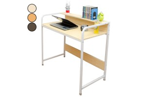 Home Office Desk Simple Elegant Wood Table Student Study Waterproof PC Computer Laptop Desk B2004-A