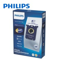 PHILIPS 4PCS S-bag Vacuum Cleaner Bags (FC8021/03)