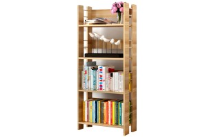 Simple And Practical Wooden Floor Storage Student Office Simple Bookshelf Small Cabinet (1803)