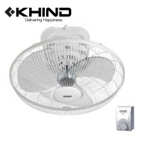 "KHIND 18"" Auto Fan with Speed Regulator More Air Delivery 3 Speed Adjustable Angle 360 Degree Rotation (AF1801)"