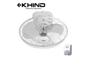"""KHIND 18"""" Auto Fan with Speed Regulator More Air Delivery 3 Speed Adjustable Angle 360 Degree Rotation (AF1801)"""
