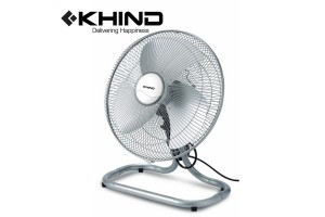 "KHIND 16"" Metal Blade Finger Proof Fan Guard 55W Floor Fan (FF1610)"