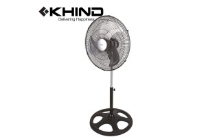 "KHIND Industrial Stand Fan 18"" Adjustable Height Aluminum Blade (SF1812)"