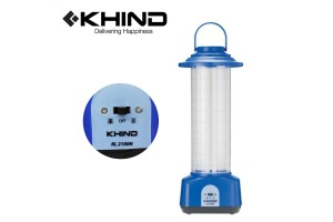 KHIND Rechargeable Emergency Light 2X10W Lighting Selection (RL2100N)