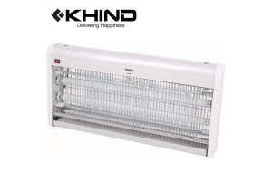 KHIND Commercial LOW Energy Consumption HIGH Attraction UV Tubes Insect Killer (IK520)