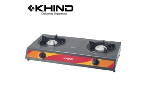 KHIND Double Burner Gas Cooker Gas Stove (GC6014)