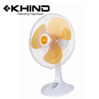 "KHIND 16"" Winter Snow Series Table Fan - Cheerful Orange (TF1612)"