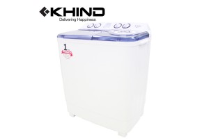 KHIND Semi Auto Washing Machine 7.0KG Air Turbo (WM717)