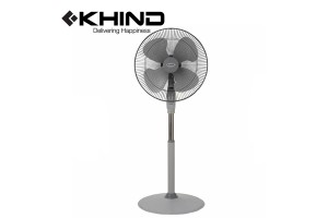"KHIND Stand Fan 18"" 1320 RPM & Adjustable Height 4 Blade Fan (SF1811)"