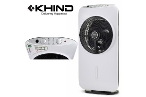 KHIND 1.6L DC Motor Analogue Control Panel Mist Fan -White (MF161)