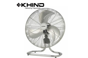 "KHIND 20"" Floor Fan Aerodynamic Metal Blades 3 Speed Control Energy Saving Moto (FF2001)"