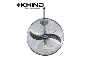 "KHIND Industrial Wall Fan 24"" Adjustable Bolt Large Industrial Fan (WF2401)"