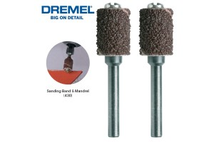 DREMEL 430 Sanding Band & Mandrel 6.4mm 60 Grit (26150430JA)