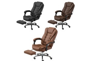 Computer Office Chair Massage USB interfaceHome Leisure Lazy Ergonomic Backrest Lift Seat
