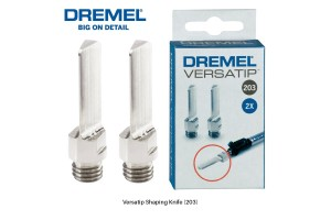 DREMEL 203 Versatip Shaping Knife (2pcs) - 26150203JA