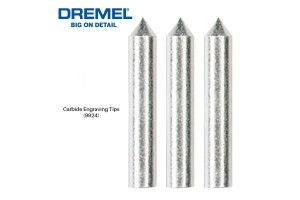 DREMEL 9924 Tungsten Carbide Engraving Tip Points For 290 Engraver Tool (3pcs) - 26159924JA