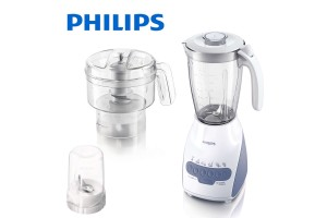 PHILIPS Blender 600W 2L Plastic Jar Multi Mill (HR2111/01)