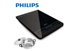 PHILIPS Daily Collection Induction Cooker + Free Pot (HD4902/60)
