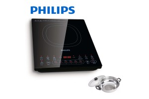 PHILIPS Collection Frequency Converter Induction Cooker + Free Pot (HD4931/60)